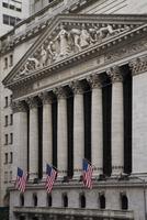 New York Stock Exchange, New York City, New York, USA 11030042043| 写真素材・ストックフォト・画像・イラスト素材|アマナイメージズ