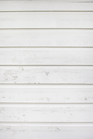 Close-up of White Painted Wooden Wall, Rothenburg, Bavaria, Germany