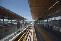 Canada Line Subway Station, Rapid Transit System, Vancouver, British Columbia, Canada