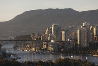 City Skyline, Vancouver, British Columbia, Canada