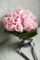 Close-up of Bouquet of Pink Roses 11030043047| 写真素材・ストックフォト・画像・イラスト素材|アマナイメージズ