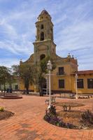 Museo de la Lucha Contra Bandidos and Street Scene, Trinidad, Cuba, West Indies, Caribbean 11030043055| 写真素材・ストックフォト・画像・イラスト素材|アマナイメージズ