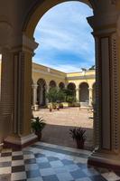Interior Courtyard of Museo Romantico, Trinidad, Cuba, West Indies, Caribbean 11030043057| 写真素材・ストックフォト・画像・イラスト素材|アマナイメージズ