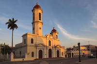 The Cathedral of the Immaculate Conception, Parque Jose Marti, Cienfuegos, Cuba, West Indies, Caribbean