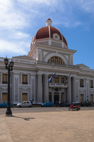 The Town Hall in Parque Jose Marti, Cienfuegos, Cuba, West Indies, Caribbean