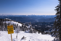 Ski Trail, Red Mountain Resort, Rossland, British Columbia, Canada