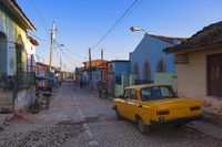 Street Scene with Old Car, Trinidad de Cuba, Cuba