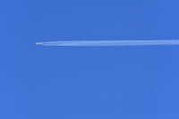 Airplane with Contrail, Germany