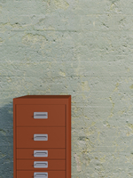 Digital Illustration of Filing Cabinet in front of Concrete Wall 11030043855| 写真素材・ストックフォト・画像・イラスト素材|アマナイメージズ