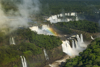 Aerial View of Iguazu Falls on the Border of Argentina and Brazil, Parana State, Brazil 11030047620| 写真素材・ストックフォト・画像・イラスト素材|アマナイメージズ