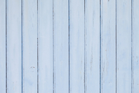 Close-up of Blue Painted Wooden Wall, Andernos, Aquitaine, France