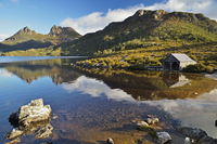 Cradle Mountain and Dove Lake, Cradle Mountain-Lake St Clair National Park, UNESCO World Heritage Area, Tasmania, Australia