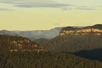 Jamison Valley, Blue Mountains National Park, Blue Mountains, UNESCO World Heritage Area, New South Wales, Australia