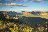 Grose Valley, Blue Mountains National Park, Blue Mountains, UNESCO World Heritage Area, New South Wales, Australia