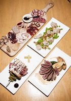 Plates of Food, Ontario, Canada