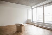 Empty Room and Box, Toronto, Ontario, Canada