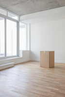 Empty Room and Box, Toronto, Ontario, Canada