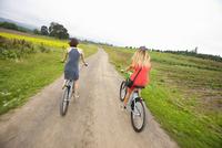 Women Riding Bikes, Oregon, USA