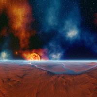 膨張する惑星