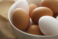 器に入った卵