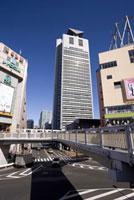 後楽園駅と文京シビックセンター