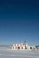 氷に閉ざされた船 11031056812| 写真素材・ストックフォト・画像・イラスト素材|アマナイメージズ