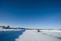 グレートスレイブ湖のアイスロード