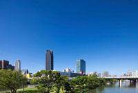 大阪中之島の街並 11031065123| 写真素材・ストックフォト・画像・イラスト素材|アマナイメージズ