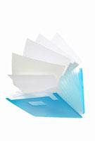 プラスチックの書類ケース