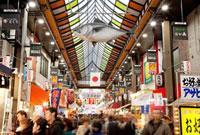 年末で賑わう大阪黒門市場