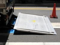 トラック荷台のパワーリフト
