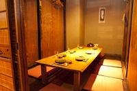 居酒屋の個室