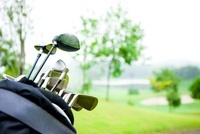 ゴルフクラブ 11031075077| 写真素材・ストックフォト・画像・イラスト素材|アマナイメージズ