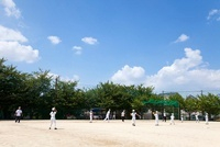 少年野球キャッチボール