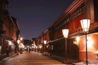 金沢ひがし茶屋街夜景