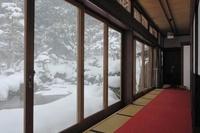 玉川寺の縁側