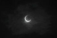 金環日食 07:34:59