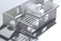 家屋の模型