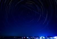 洲崎の夜空