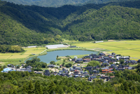 久美浜町の田園風景