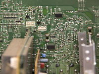 テレビ内部の電気回路