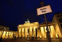 The Brandenburg Gate 11034003402| 写真素材・ストックフォト・画像・イラスト素材|アマナイメージズ