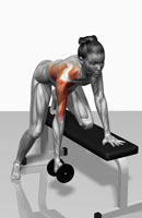 One arm dumbbell row (Part 2 of 2)