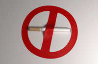 No Smoking' symbol