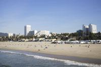 ロサンゼルス、サンタモニカビーチ