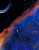 宇宙の銀河や惑星