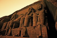 Colossi of Ramses II Great Temple of Ramses II Abu Simbel UN