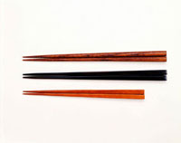 Three pairs of chopsticks