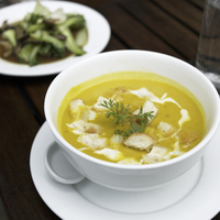 Thai Yellow Curry Soup