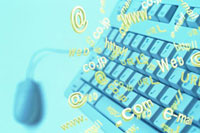 キーボード CG 11065000182| 写真素材・ストックフォト・画像・イラスト素材|アマナイメージズ